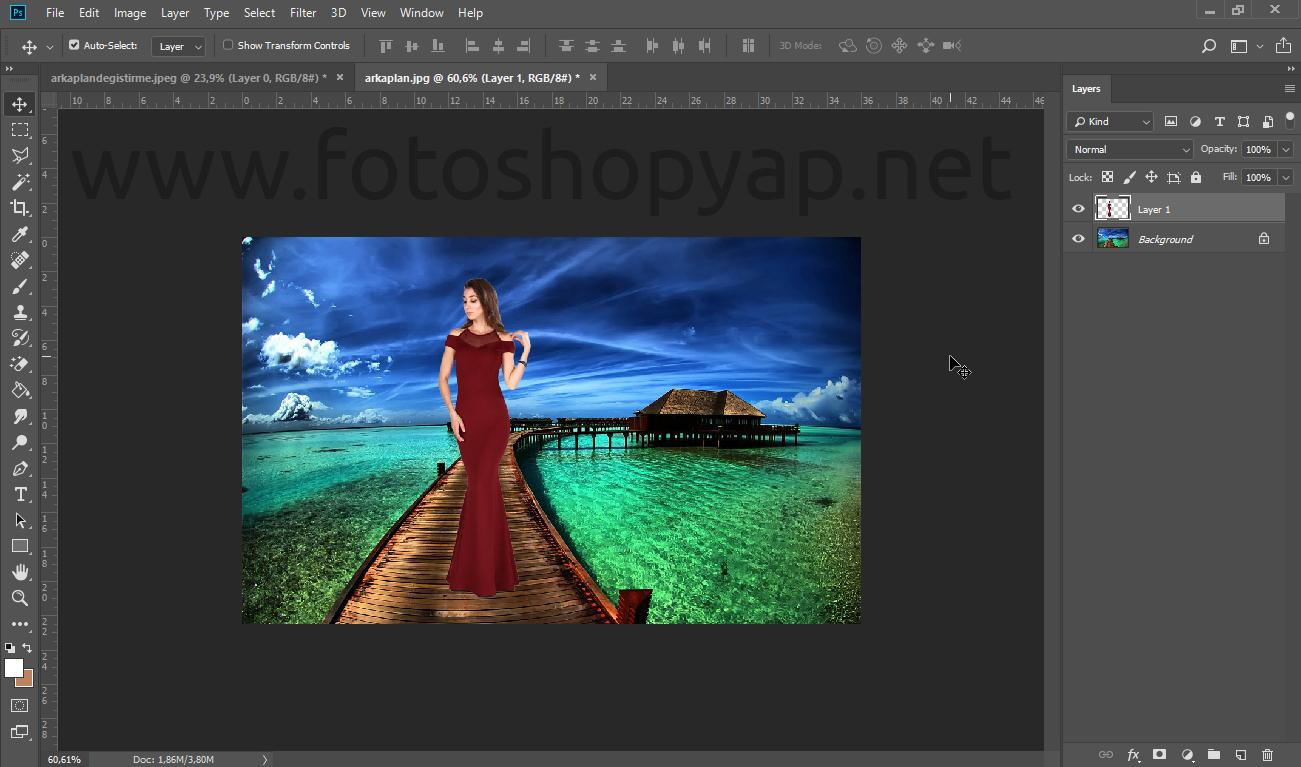 Photo of Photoshopta arka plan değiştirme nasıl yapılır