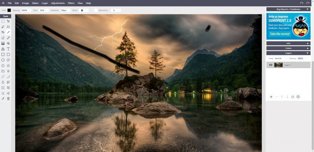 Photo of İndirmeden Fotoshop Yap