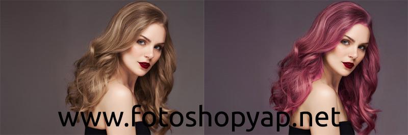 Photo of Photoshop Saç Rengi Değiştirme